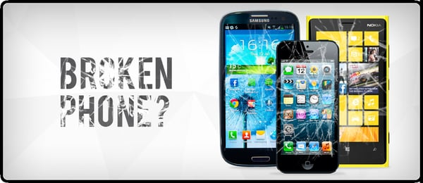Your iPhone have broken display or protection glass?